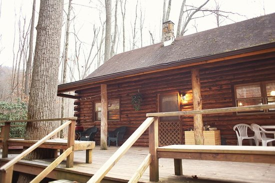 Cheat River Lodge and Riverside Cabins: Such a cute cabin!