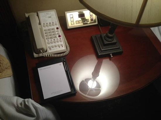 Lotte New York Palace: The room control thing - circa 1980
