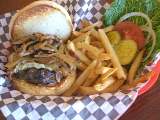 Wasatch Back Grill & Deli: Wasatch Back Burger