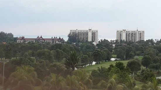 Port Dickson Golf & Country Club: From room...nice view