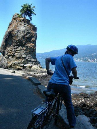 Stanley Park : bike path