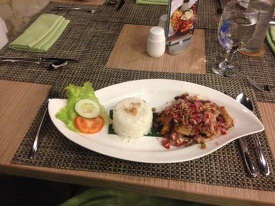 Hotel Santika Siligita Nusa Dua: everything was delicious in the restaurant