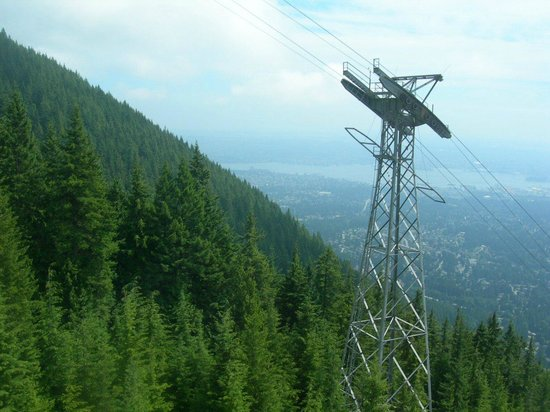 Grouse Mountain Skyride: kind of a view