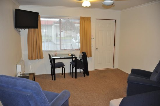 BK's Rotorua Motor Lodge: Room view (entry area)