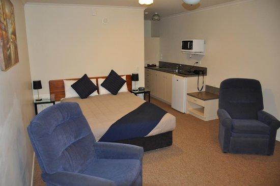 BK's Rotorua Motor Lodge: Bedroom