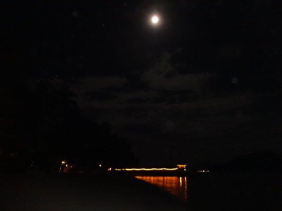 Vivanta by Taj Rebak Island, Langkawi: The cabana under moonlight..