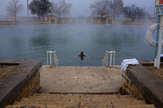 Balmorhea State Park: pool