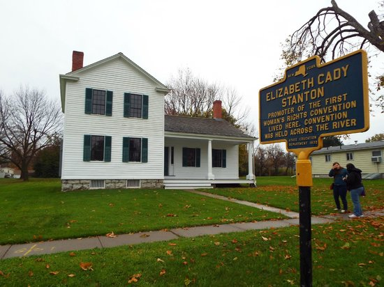 Women's Rights National Historical Park : Elizabeth Cady Stanton's house
