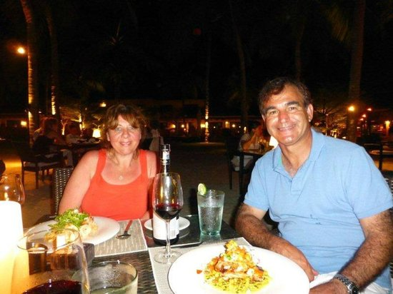 Casa del Mar, Langkawi: Mario and Silvana dinner on the beach