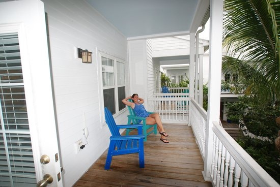 Parrot Key Hotel and Resort: Porch