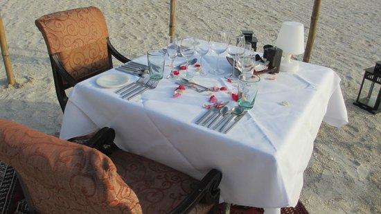 Casa del Mar, Langkawi: Romantic Dinner fro two