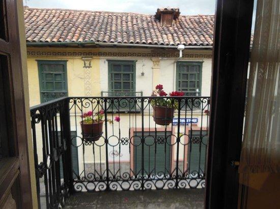 Casa San Rafael: vista desde la ventana