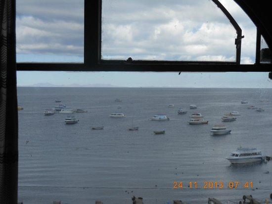 Hotel Mirador: Vista do Lago Titicaca