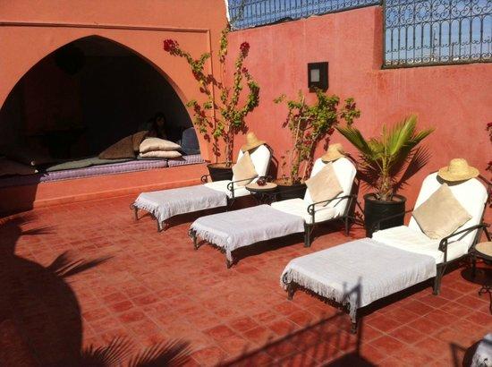 Riad Elizabeth: Sun Lounges