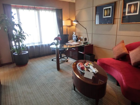 Sofitel Xian on Renmin Square : リビングルーム