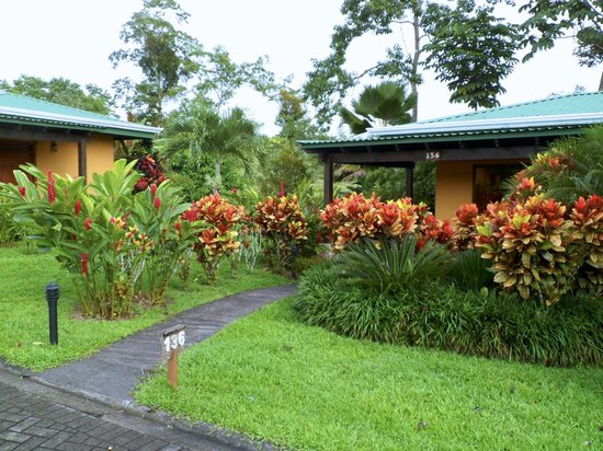 Arenal Manoa Hotel : The duplex style buildings