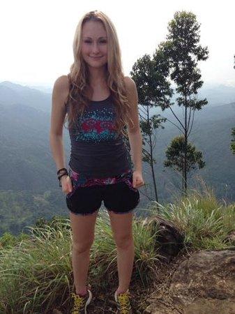 Ella, Sri Lanka: on the top
