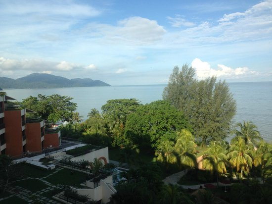 PARKROYAL Penang Resort, Malaysia: just one of the great views from our room