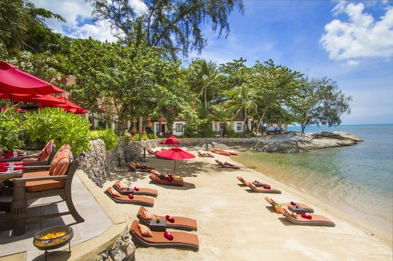 Rocky's Boutique Resort: Main Beach