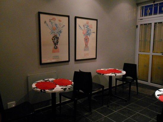 Rose Lodge: Frühstückraum