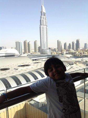 Address Dubai Mall : veiw from room