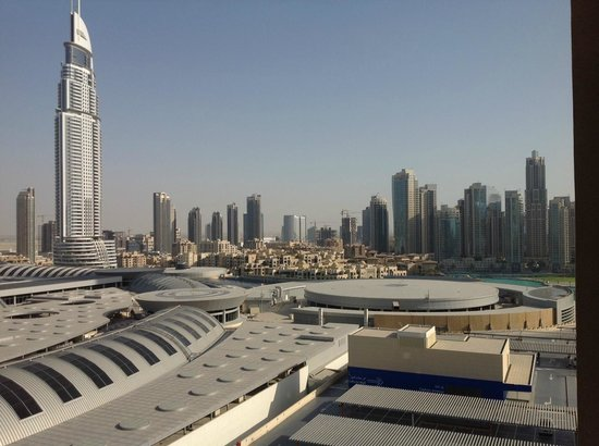 Address Dubai Mall: view from room