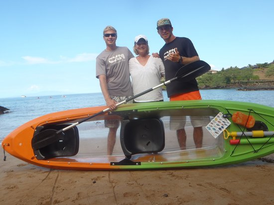 Clear Kayaks Maui : excellent time