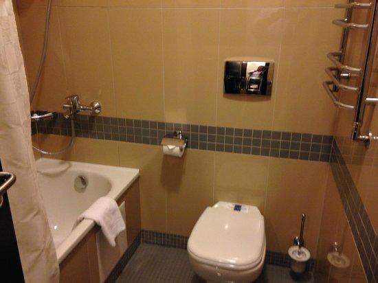 ALFAVITO HOTEL: バスルームは普通です。