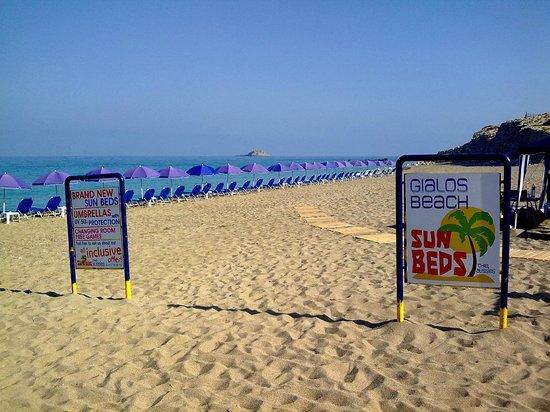 เลฟกาดา, กรีซ: Aussie Sun Beds