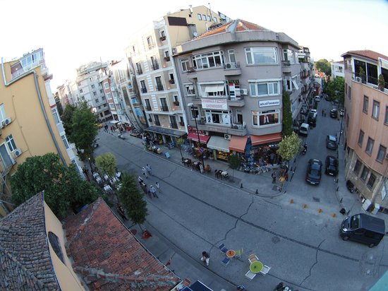 Kybele Hotel : バルコニーからの眺め