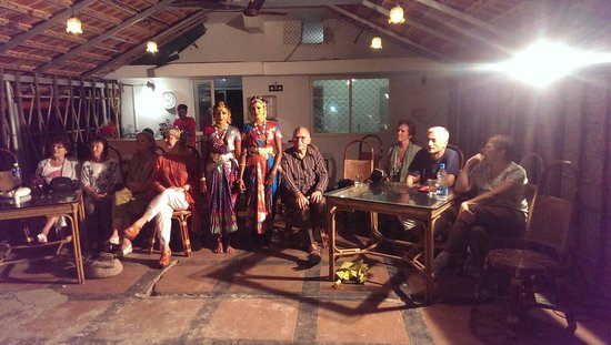 Cultural programmes show from palm beach resort alleppey
