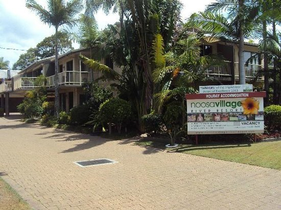 Noosa Village River Resort: Main entrance