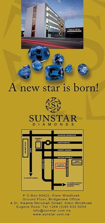 Sunstar Diamonds: Brochure - Back