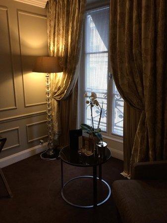 Hotel Le Burgundy: junior suite