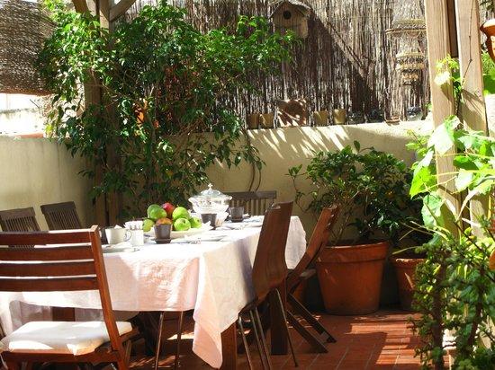 Hostal Poblenou Bed & Breakfast: Terraza