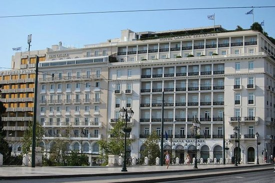 King George, A Luxury Collection Hotel: Facede
