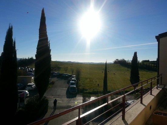 Montaperti Hotel: Vista camere