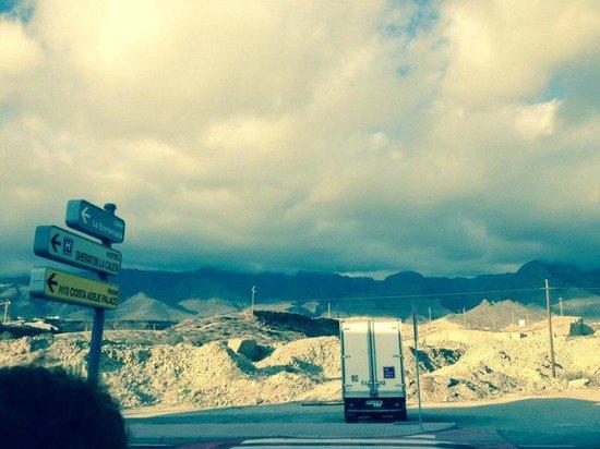 Sheraton La Caleta Resort & Spa, Costa Adeje, Tenerife: Going to la Caleta