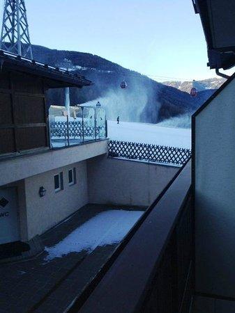 Hotel Heinz: La vista della Sylvester dal balcone della camera