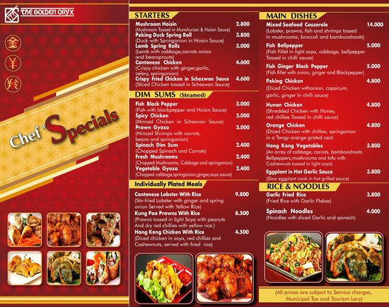 Golden Chef Chinese Restaurant