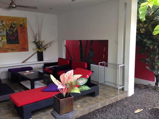 Arvina Villas: Le salon