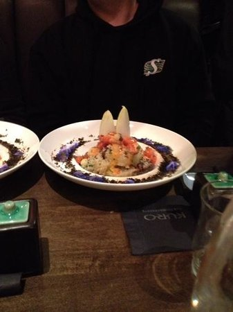 Kuro Asian Cuisine: The volcano