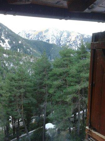 Hotel Camp del Serrat: Vista desde la habitación