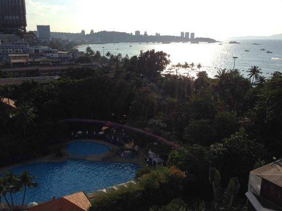 Hard Rock Hotel Pattaya : View from room