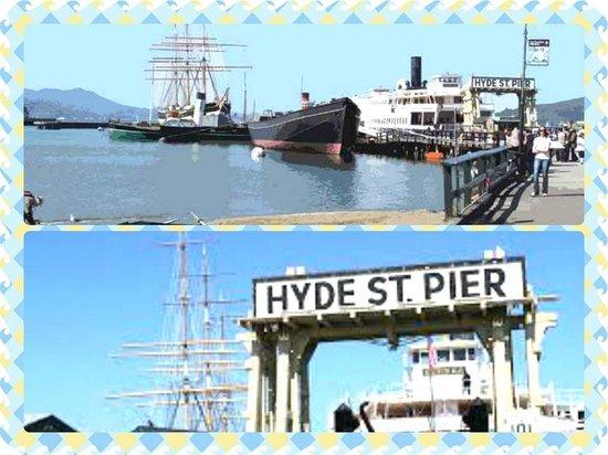 San Francisco Shuttle Tours: HYDE ST PIER