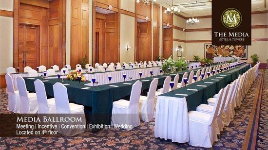 The Media Hotel And Towers: Media Ballroom