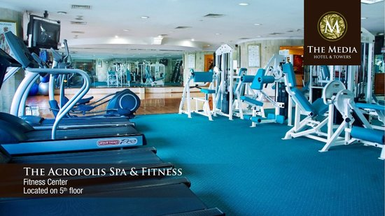 The Media Hotel And Towers: The Acropolis Spa & Fitness