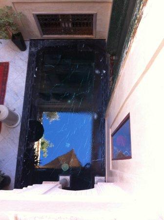 Riad Moullaoud : Vue du 1er étage