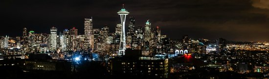 View from Kerry Park @ night