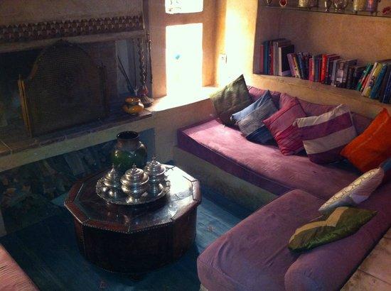 Riad Moullaoud : Salon de thé
